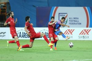 Intercontinental Cup: India denies Syria place in finals; pulls off 1-1 draw