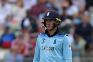 CWC 2019: Jason Roy fined for showing dissent at umpire's decision