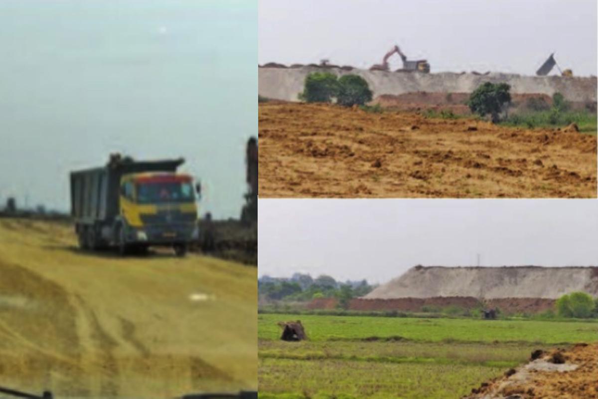 Jharsuguda, dump yard, polluting, industrial garbage