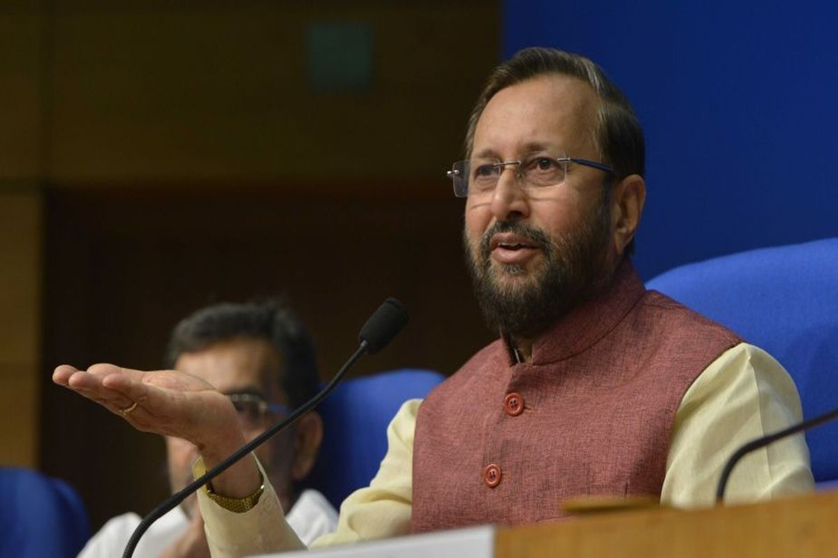 Javadekar lauds govt's work done in first fifty days