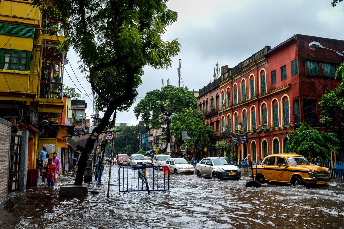 rainfall, monsoon, West Bengal,