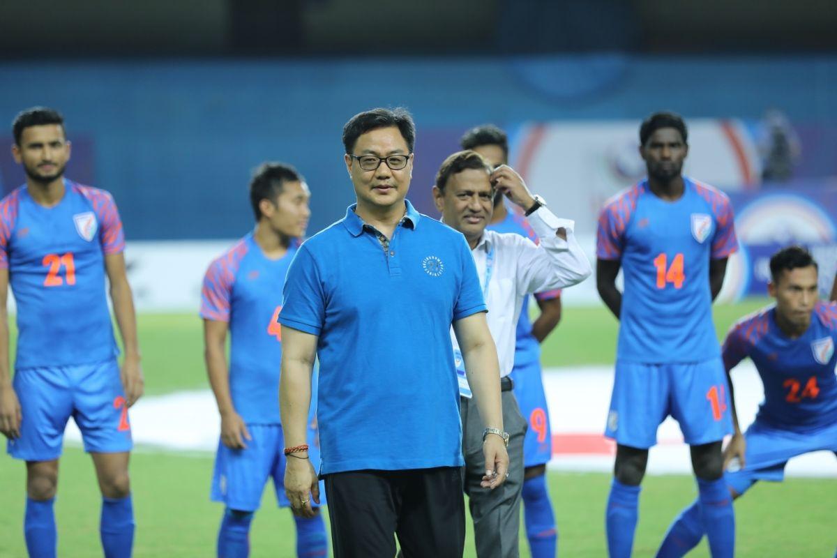 Kiren Rijiju, Indian football, Intercontinental Cup, Ministry of Sports, AIFF,