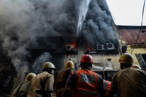 Fire at Nandaram Market; no casualty reported