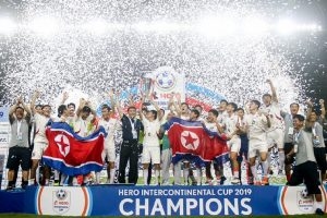 North Korea win Intercontinental Cup football title
