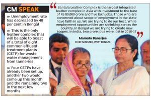 Karmadiganta: Five lakh jobs await at Bantala Leather complex, says Mamata Banerjee