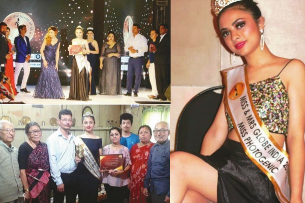 Kurseong, Miss and Mrs Globe India 2019, Nivritti Pradhan, Miss Photogenic, Siliguri,