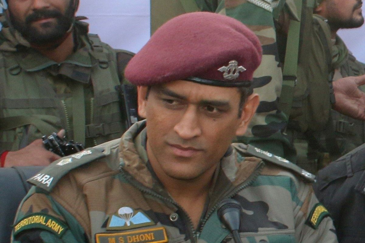 MS Dhoni, Territorial Army, Rishabh Pant,