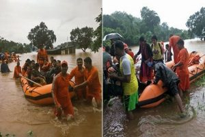 Mahalaxmi Express rescue ops end, all 700 evacuated from train stuck near Mumbai after rains