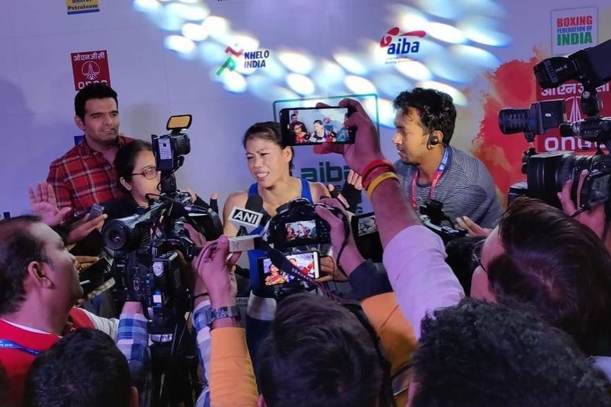 Mary Kom, President's Cup, Indonesia, April Franks,