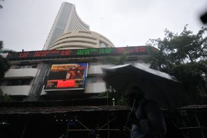 Markets end flat, TCS 2% down ahead of earnings outcome