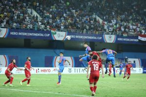 Narender Gahlot becomes 2nd youngest goalscorer for India