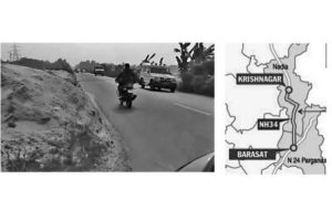 State govt urges NHAI to repair NH-34
