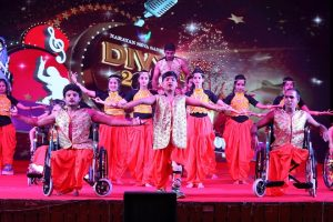 Divyang models perform at talent show