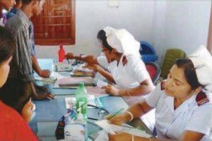 Where nurses double as doctors!