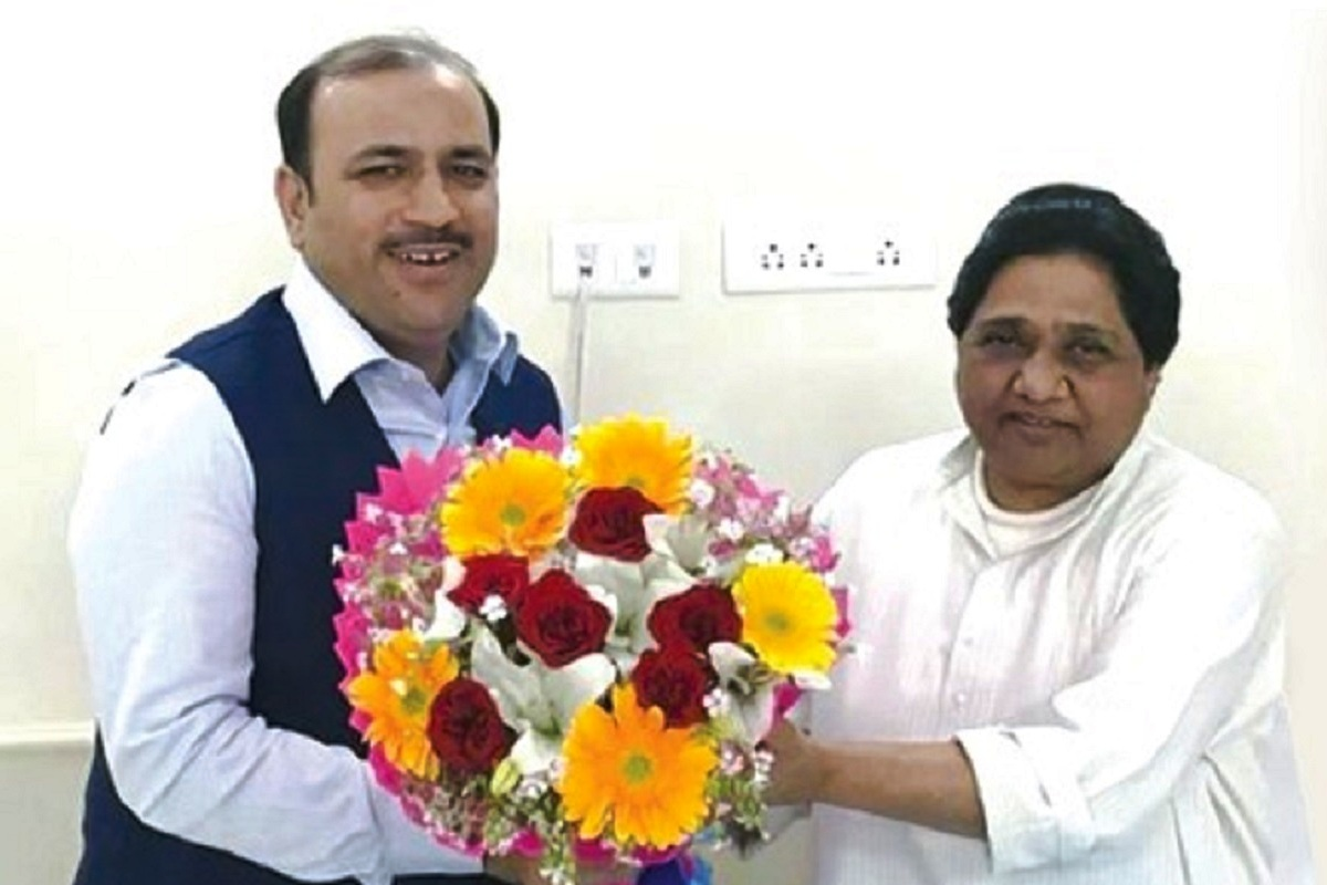 First-timer as BSP floor leader, Danish Ali, Mayawati, Lok Sabha, Congress
