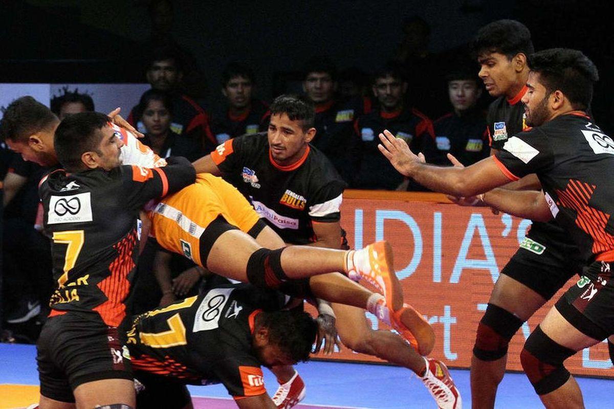 Pro Kabaddi League, Bengaluru Bulls, Tamil Thalaivas, Telugu Titans,