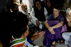 'Jail me, but won't leave without meeting Sonbhadra victims': Priyanka Gandhi still in detention in UP