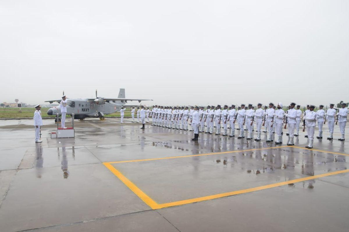 Indian Navy, New Delhi, Delhi, Indian Naval Air Squadron 313, Dornier aircraft squadron, Admiral Karambir Singh, Bay of Bengal, Indian Ocean