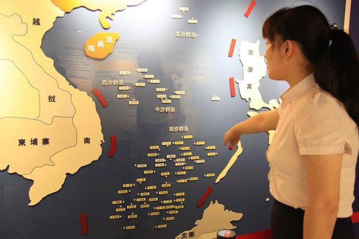 Vietnam, India, China, South China Sea