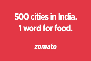 Zomato serving in 500 cities across India