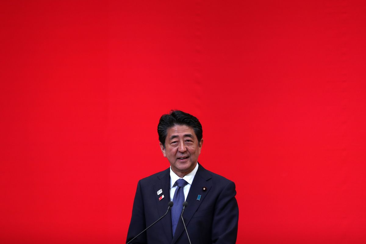 Challenge to Mr Abe, Japan, Shinzo Abe