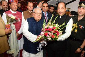 Kalraj Mishra sworn in as HP Governor