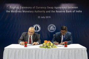 India, Maldives ink currency swap accord