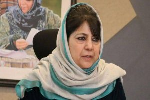 Mehbooba trying to gain lost ground by raking up issue of troop deployment