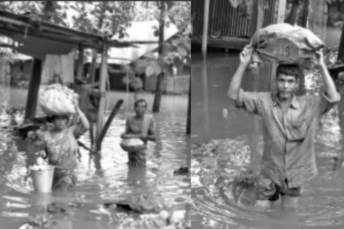 rainfall, Atryee river, Balurghat Municipality, waterlogged