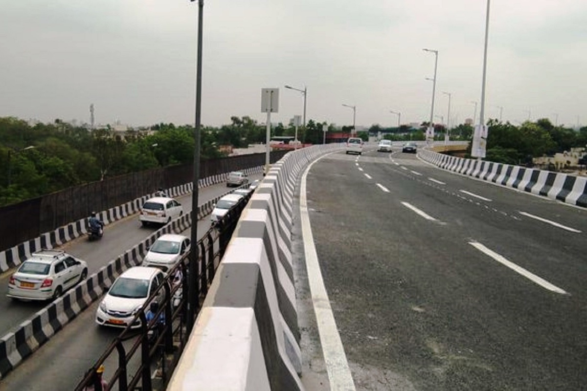 Arvind Kejriwal, Rao Tula Ram flyover, New Delhi, Delhi, RTR, Gurgaon, Noida