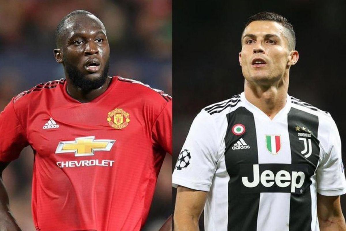 innovative design 27424 117bf Cristiano Ronaldo approves Romelu Lukaku as new Juventus ...