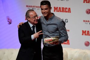 Ronaldo becomes second footballer after Messi to win MARCA Leyenda award