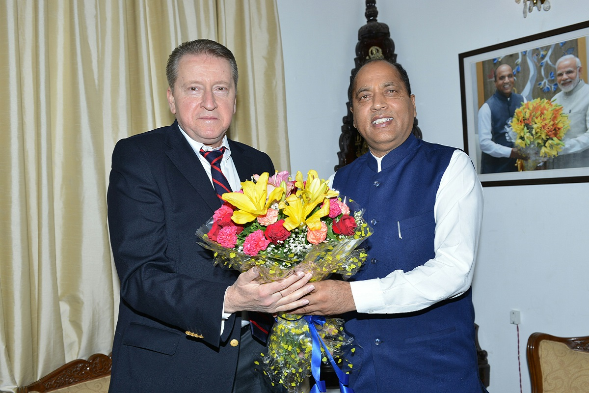 Russian Ambassador, India, HP, Shimla, Himachal Pradesh, Jai Ram Thakur, Russia, Himachal