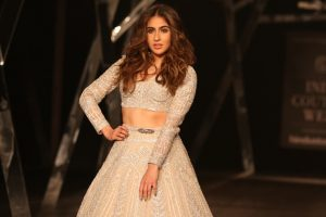 Sara Ali Khan debuts on the ramp