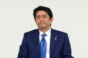 Shinzo Abe on course to retain majority in Japan upper house election