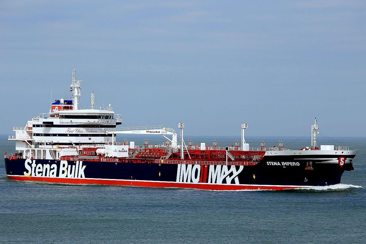 'Iran's seizure of oil tanker 'tit-for-tat situation', says UK