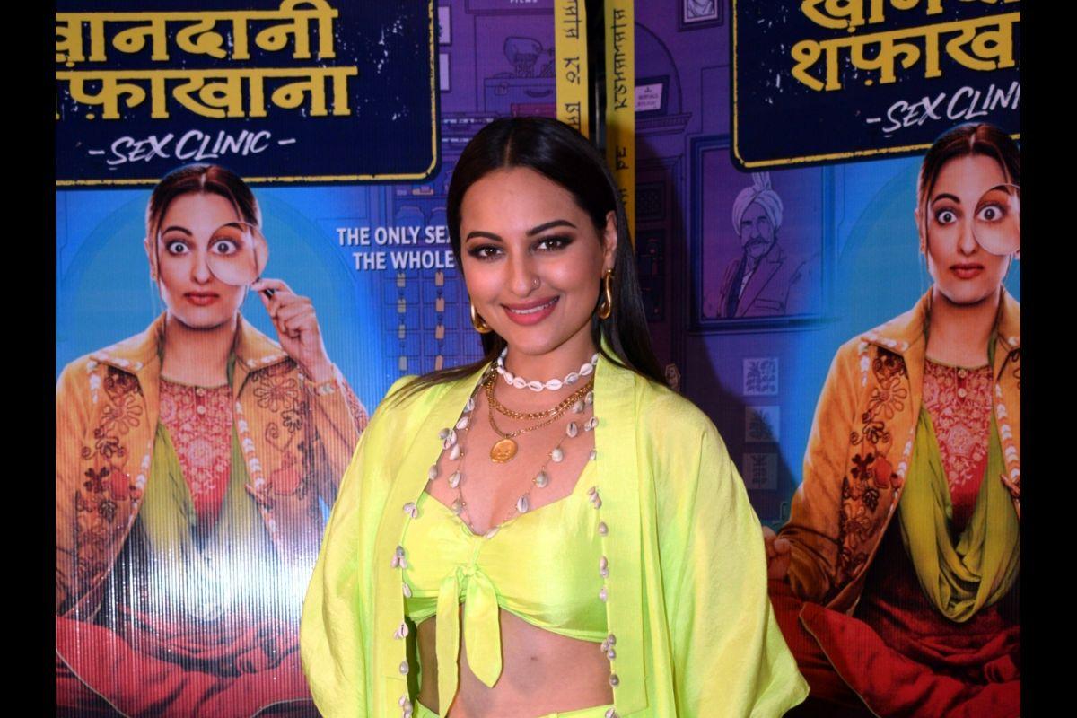 Sonakshi Sinha, Khandaani Shafakhana, Shilpi Dasgupta, Bhushan Kumar, Mahaveer Jain, Mrighdeep Singh Lamba, Divya Khosla Kumar, Myntra Fashion Superstar