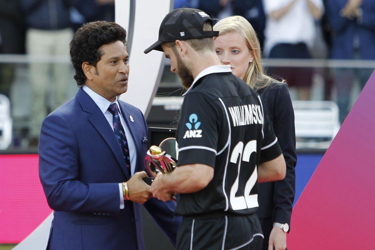 'You had a great World Cup': Sachin Tendulkar told Kane Williamson after World Cup loss