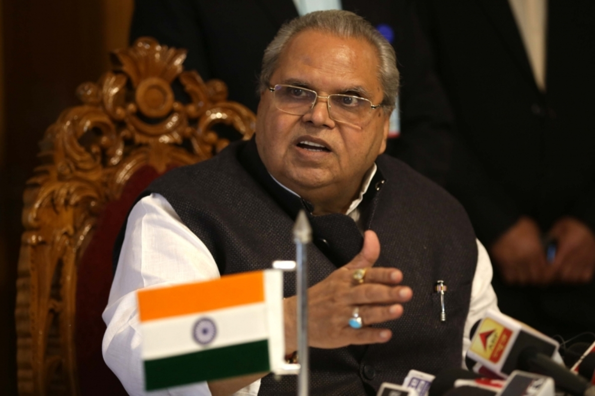 'In fit of anger, frustration': J-K Governor on 'kill corrupt politicians' message to terrorists