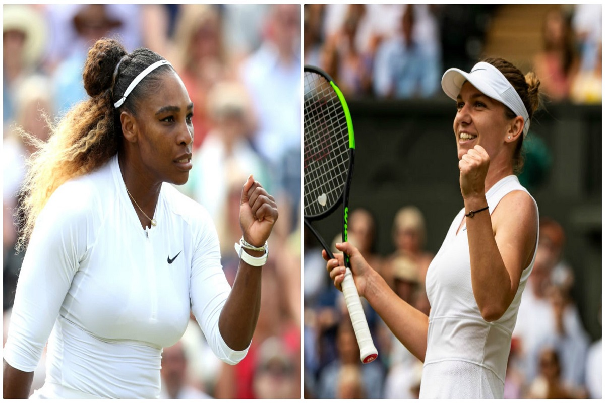 Serena Williams, Wimbledon, Simona Halep, Final, Nadia Comăneci