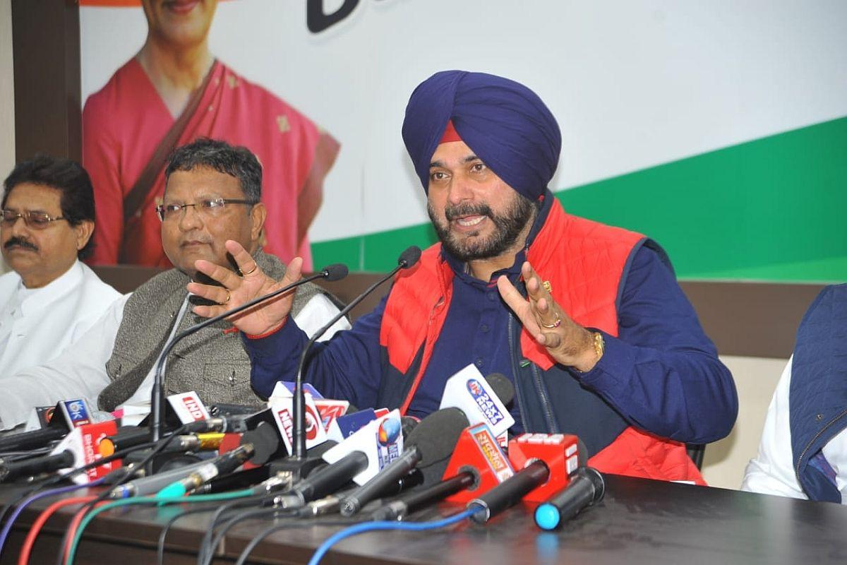 Amarinder Singh, Navjot Singh Sidhu