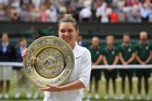 Halep thwarts Serena's historical bid with Wimbledon final triumph