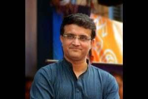 'There were too many gentlemen in my team', jokes Ganguly on air