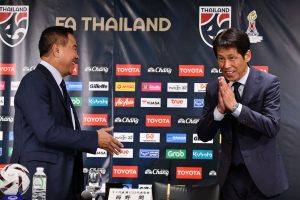 Thailand coach Akiran Nishino wants to take them to 2022 FIFA World Cup
