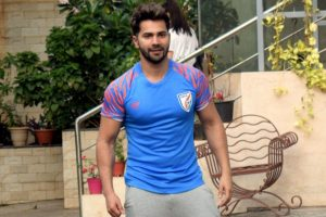 'Emotional' Varun Dhawan wraps up 'Street Dancer 3D' shoot