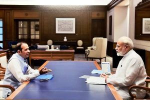 Indian envoy to Pakistan meets Modi