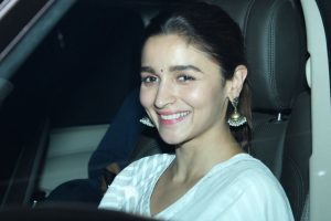 Alia Bhatt starts prepping for Ooty schedule of 'Sadak 2'