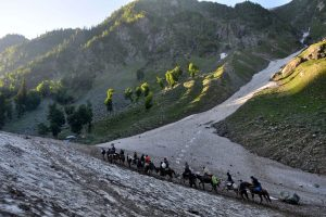 Over 95,000 pilgrims perform Amarnath Yatra in past 7 days