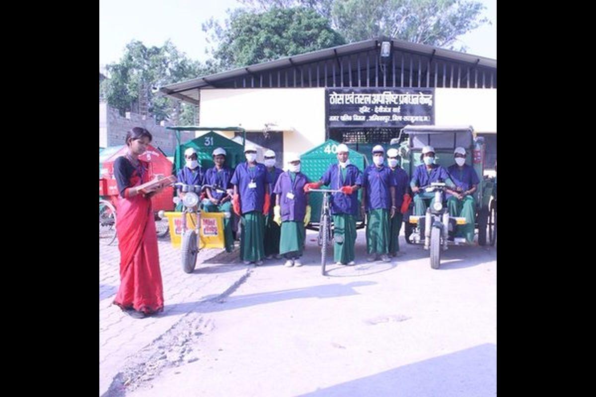 Ambikapur, Chhatisgarh, Garbage Cafe Scheme