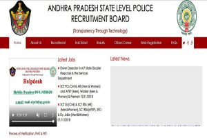 AP Police releases the final merit list 2019 for SI and Jailor posts at slprb.ap.gov.in | Website not responding properly